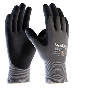 MaxiFlex Ultimate 42-874 Nitrile Foam Palm Coated Work Gloves Super Comfort