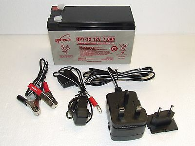 sca car battery charger instructions