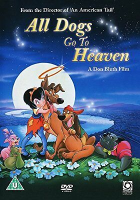 All Dogs Go To Heaven    New Sealed Genuine Uk Retail  Dvd