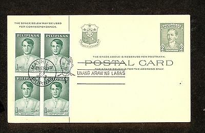 WC5324 1963 Philippines First Day Cover Block of 4