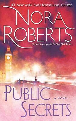 NEW Public Secrets by Nora Roberts Paperback Book (English) Free Shipping
