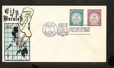 WC5404 1959 Philippines First Day Cover