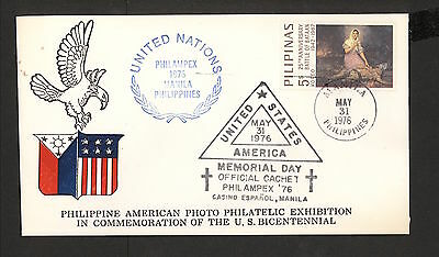 WC5417 1976 Philippines First Day Cover