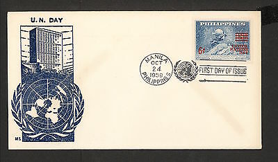 WC5420 1959 Philippines First Day Cover