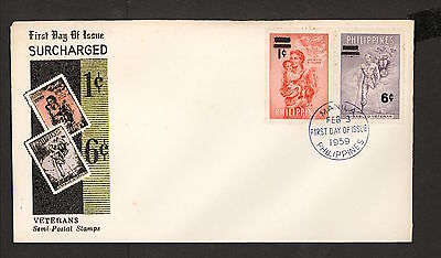 WC5426 1959 Philippines First Day Cover