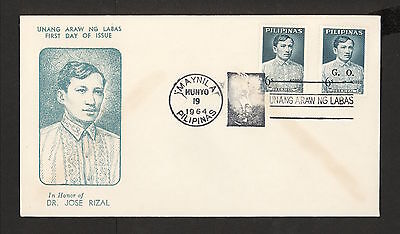 WC5436 1964 Philippines First Day Cover
