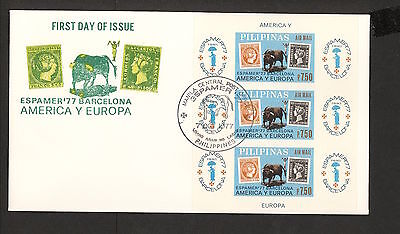 WC5441 1977 Phillipines First Day Cover
