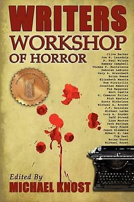 NEW Writers Workshop of Horror by Paperback Book (English) Free Shipping