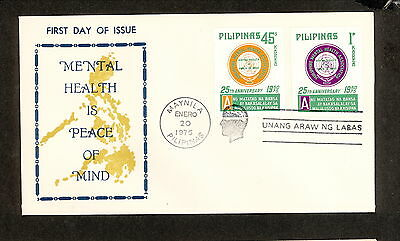 WC5447 1975 Philippines First Day Cover