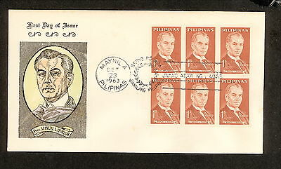 WC5453 1963 Philippines First Day Cover