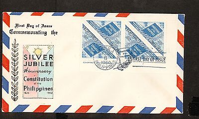 WC5474 1960 Philippines First Day Cover