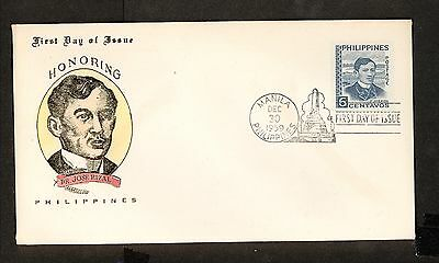 WC5483 1959 Philippines First Day Cover