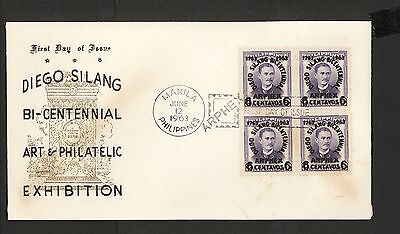 WC5484 1963 Philippines First Day Cover