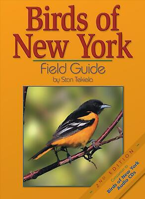 Birds of New York Field Guide by Stan Tekiela (English) Paperback Book Free Ship