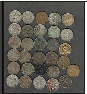 LOT OF 100 1953 to 1967 British Wedding Q E Lucky Sixpence - BLOWOUT PRICE