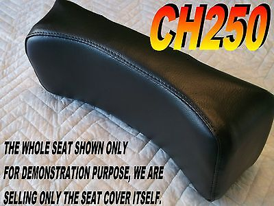 CH250 back rest seat cover for Honda CH 250 ELITE SPACY FREEWAY all Black 135A