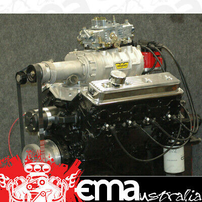 Chevrolet 350 Cid Vortec V8 Weiand 142 Supercharger All New & Complete