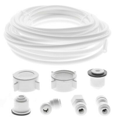 Spares2go American Fridge Freezer WATER Feed Pipe Hose CONNECTION Connectors Kit