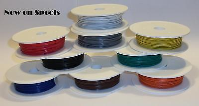 20 Metre Rolls of Hornby / Peco Equipment / Hook up wire Stranded  9 Colours