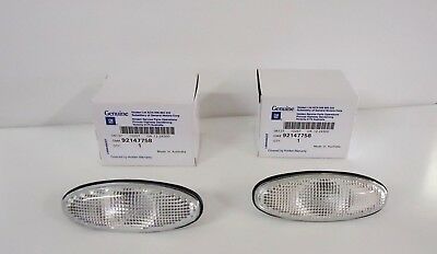 Holden Genuine New Clear Indicator Lens to suit VT VX Commodore Set of 2