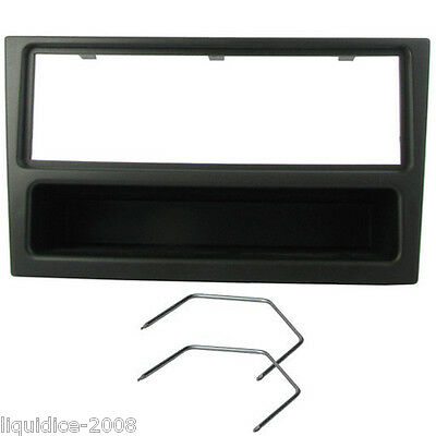 Ct24Vx01 Opel Agila 2000 Onwards Black Fascia Facia Adaptor Surround Trim