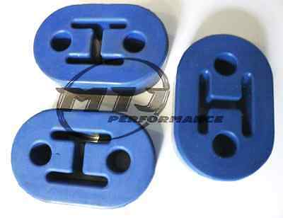 3 x High Quality Exhaust Universal Heavy Duty Rubber Mount Mounting Bracket