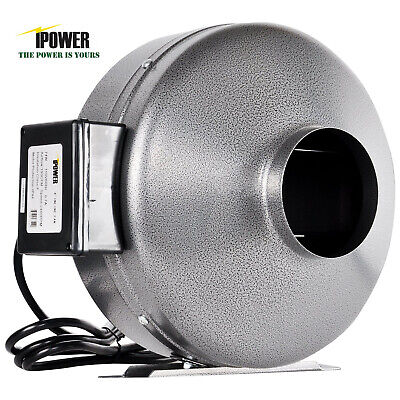 "iPower 4"" 6"" 8"" 10"" 12"" Inch Inline Duct Fan Exhaust Blower HIGH CFM Cool Vent"