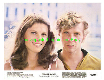 BREAKING AWAY LOBBY CARD size MOVIE POSTER Card #2 BARBARA BARRIE 1979