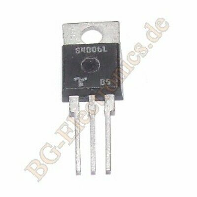 1 x S4006L Thyristor Teccor TO-220 1pcs