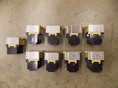 Large Lot of ALLEN BRADLEY RELAYS 700PK400A1 700P000A1 193BSB42 + MORE