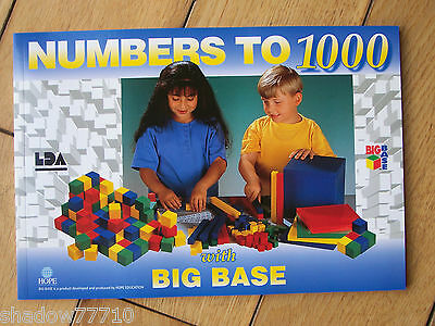 big base numbers to 1000 mathematics worksheets book use with multilink cubes **