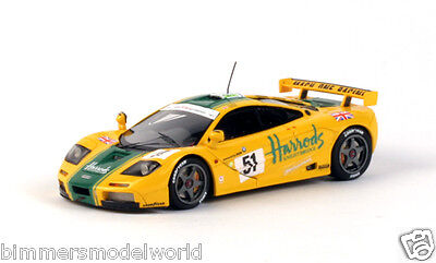 1:43 Scale 1995 Le Mans 24hr 3rd Place  BMW McLaren F1 GTR - Harrod's #51 by TSM