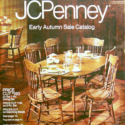 1982 jcpenney catalog fall winter j c penney 80 39 s for Home decor furniture catalog