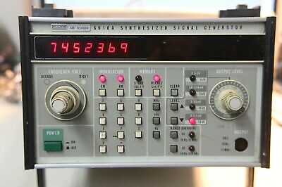 Fluke 6010A Synthesized Signal Generator.