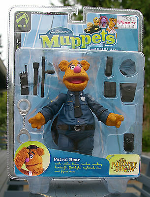 Jim Henson's The Muppet Show Patrol Fozzie Bear by Palisades New in Box!