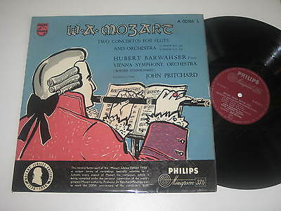 LP/MOZART TWO CONCERTOS FOR FLUTE/BARWAHSER/PRITCHARD/Philips 00166