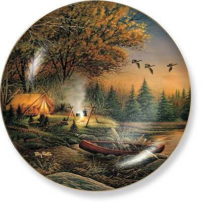 Canada Geese Collector Plate Terry Redlin Evening Solitude