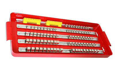 Socket Tray & Rails FOR Toolbox Tidy Kit  1/4 DR  3/8 DR 1/2 Drive - METAL TRAY