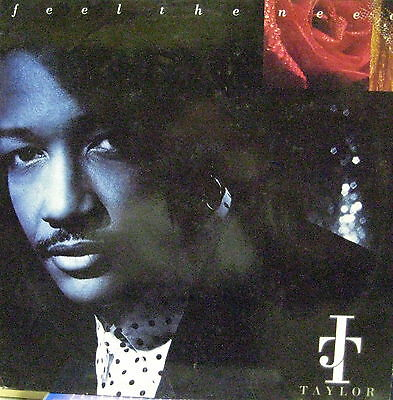 J T Taylor Feel The Need  LP Germany  MCA 1991 A00137