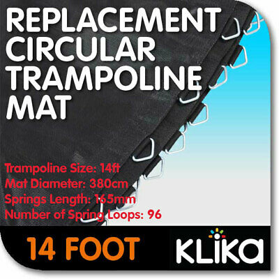 NEW 14ft REPLACEMENT TRAMPOLINE MAT ROUND OUTDOOR SPARE PARTS