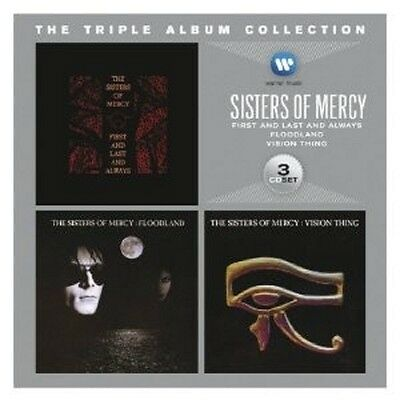 Sisters Of Mercy - The Triple Album Collection (Vision Thing/+) 3 Cd Neu