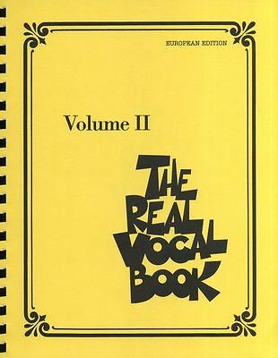 The Real Vocal Book Volume Learn to Play Piano Guitar Lyrics Music Book