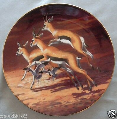 "Royal Doulton  ""under African Skies Sunlit Flight -Ltd Ed""  Mm42592 / Pn202 Mib"