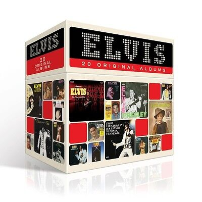 Elvis Presley - The Perfect Elvis Presley Collection 20 Cd Box Set Neu
