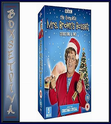 Mrs Browns Boys - Complete Series 1 & 2 Plus Xmas Special  *Brand New Blu-Ray *