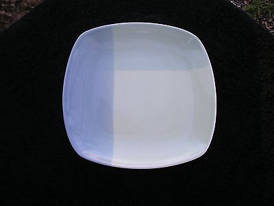 222 Fifth Color Blocks Blue Green Sections Areas Square Bread Butter Plate