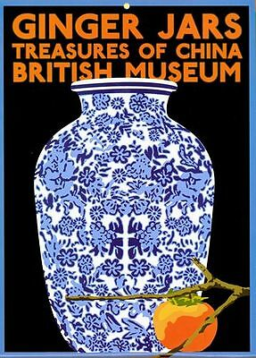 A2  Reprint Vintage British Museum Japanese Mask Exhibition Poster A3