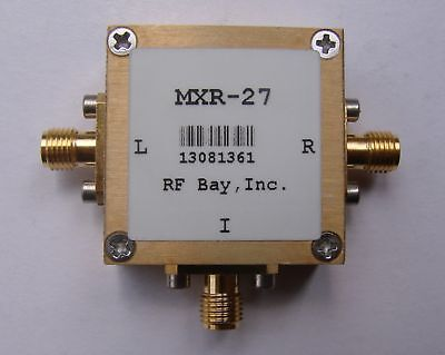 1-2700MHz Level 10 Frequency Mixer, MXR-27, New, SMA