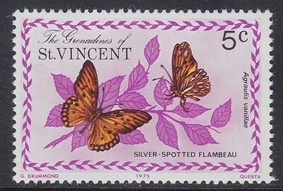 Grenadine Of St. Vincent 1975 - Farfalle - Butterfly - C. 5 - Mnh