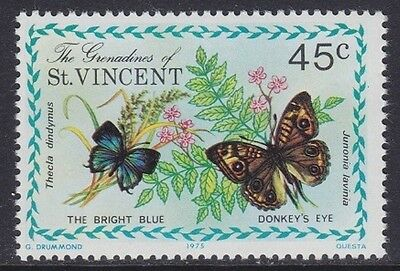Grenadine Of St. Vincent 1975 - Farfalle - Butterfly - C. 45 - Mnh
